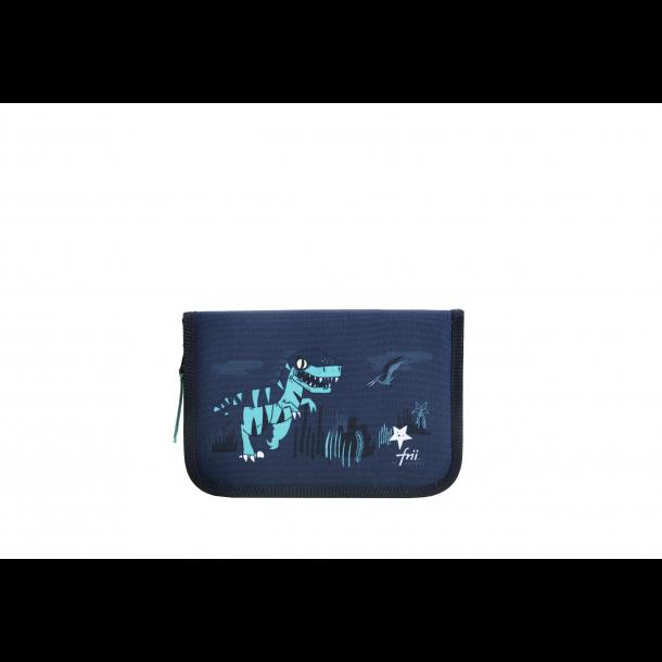 Frii Of Norway Penalhus - Dinosaur Dark Blue/Green